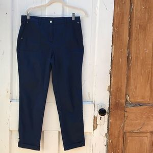 Chico's navy pants Size 4